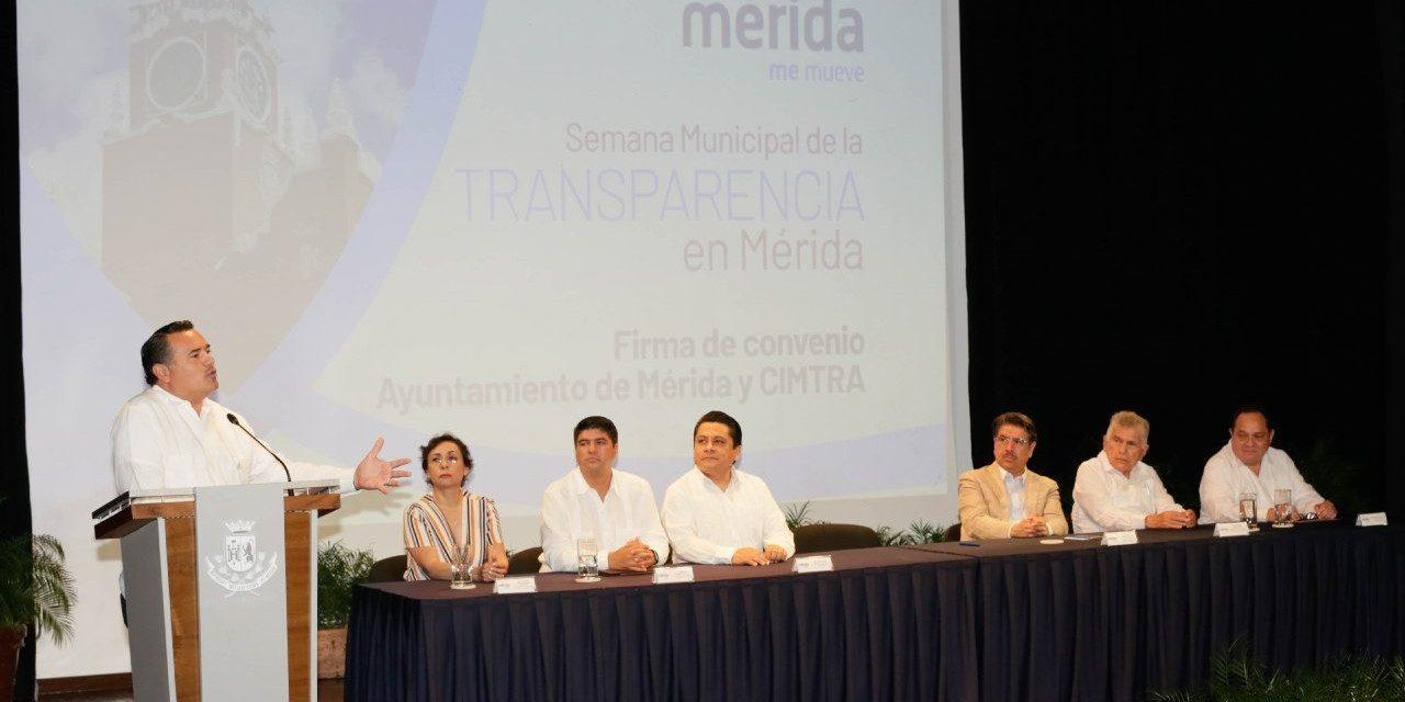 Compromiso de Renán con transparencia y rendición de cuentas