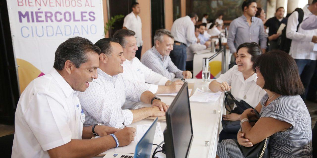 Nutrida participación en la reactivación del Miércoles Ciudadano