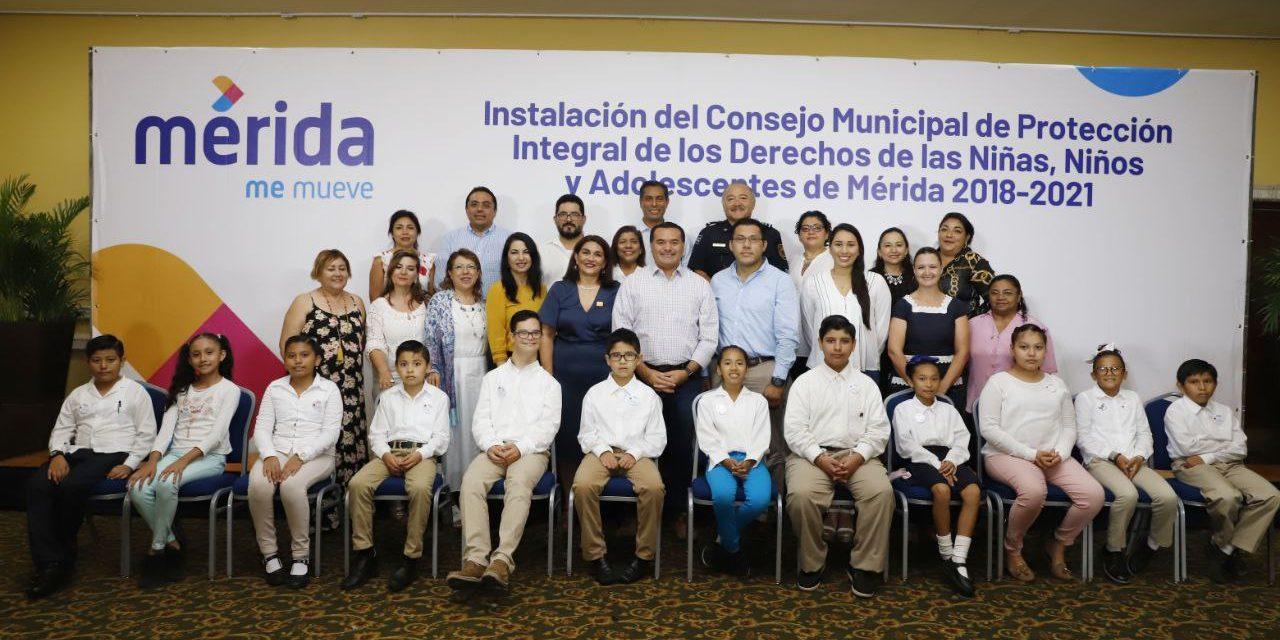 Abre Consejo Municipal participación a niñas, niños y adolescentes de Mérida