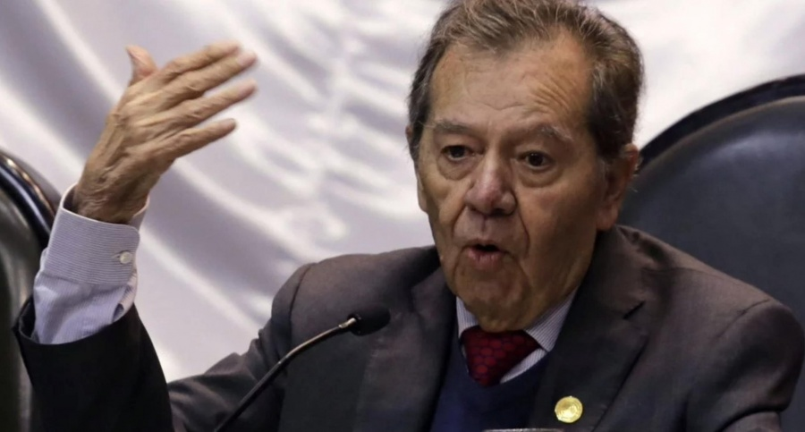 Muñoz Ledo renuncia a la Presidencia de la Mesa Directiva en Cámara de Diputados