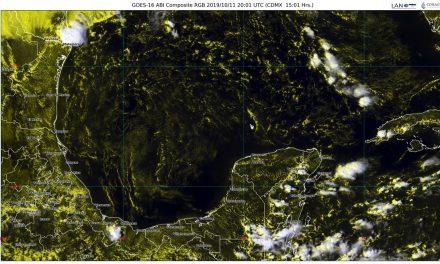 Fin de semana: así estará el clima en la Península de Yucatán