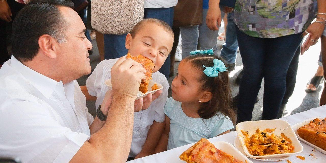 Tercera Feria del Mucbipollo en San Sebastián, tradición y disfrute