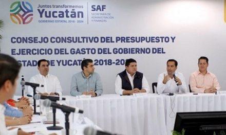 Yucatán del lugar 12 al 4 en Índice de Información Presupuestal Estatal 2019