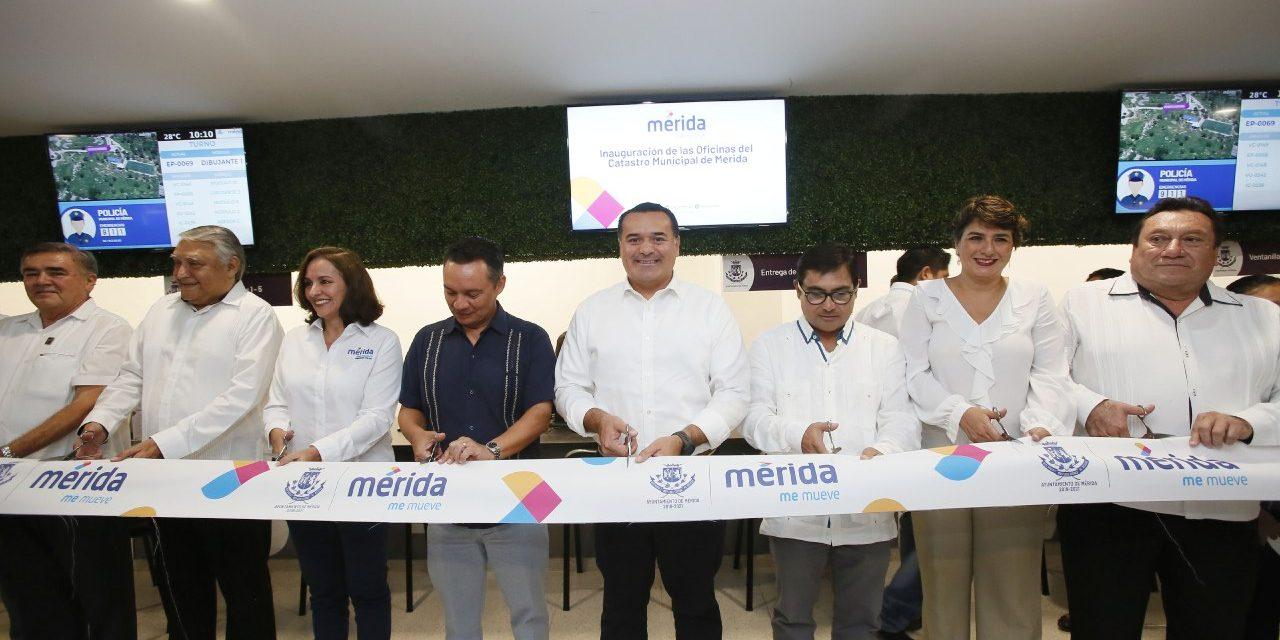 Con innovaciones tecnológicas, Catastro de Mérida tiene nuevo edificio