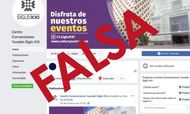 Página clonada del Siglo XXI en Facebook promueve falso evento navideño
