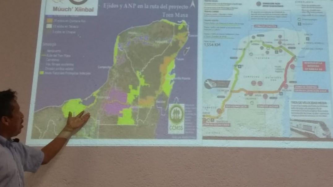 Tren Maya responde a mercado turístico y transnacionales, según experto