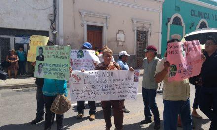 Quiebra de ISSTEY y mayores montos de jubilación, temas de protesta (Video)