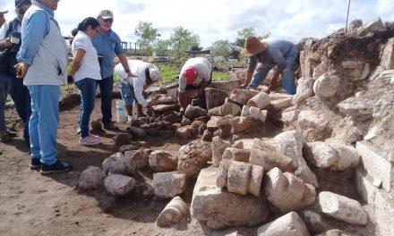 Emergen más vestigios mayas al oriente de Mérida (Video)