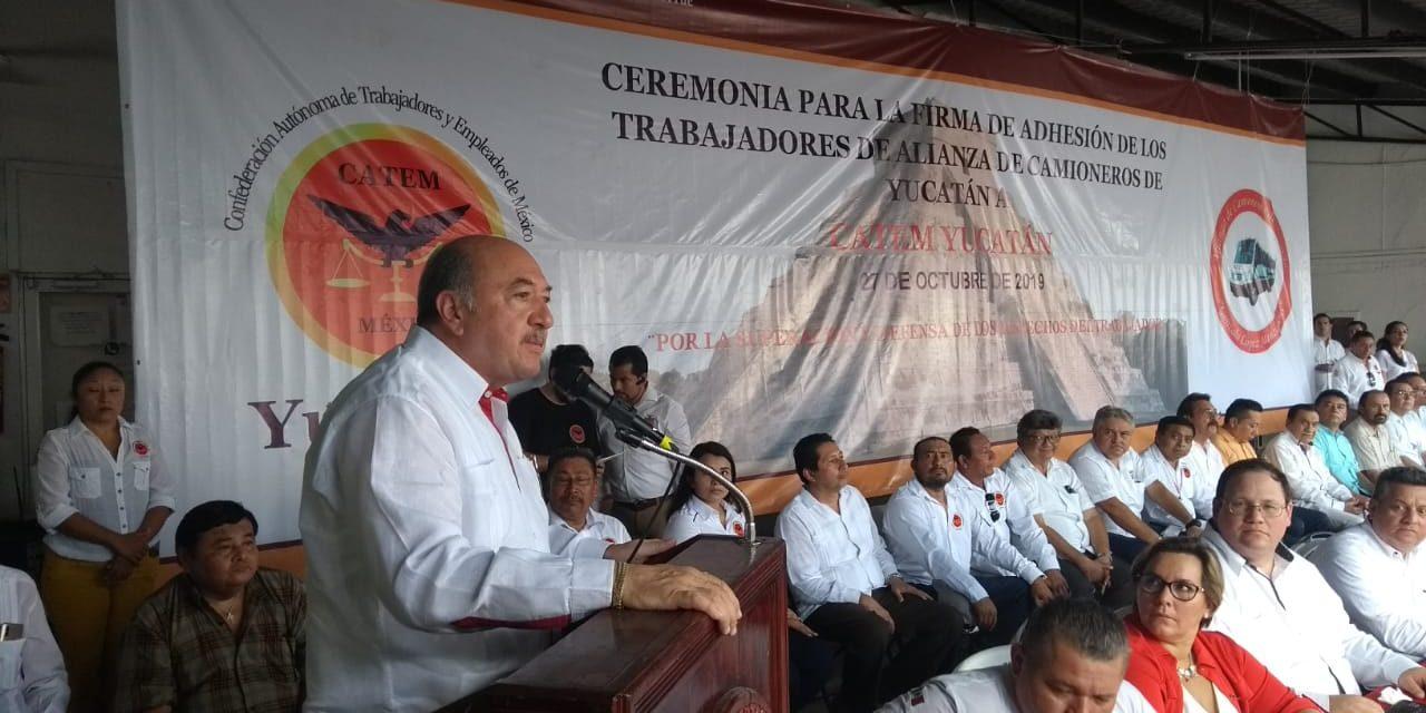 Afiliaciones colectivas quitan fuerza a centrales priístas