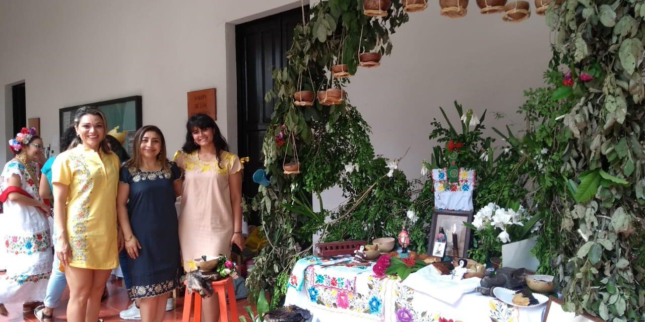 Altares de muertos en Yucatán, memoria y tradición