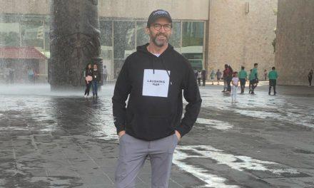 Hugh Jackman pasea en la Ciudad de México
