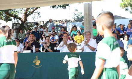 """Reaparece Vila Dosal e inaugura Liga de Fútbol """"Álvaro García Aguilar"""""""