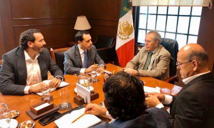 Gestiona Vila Dosal más obras de infraestructura para Yucatán
