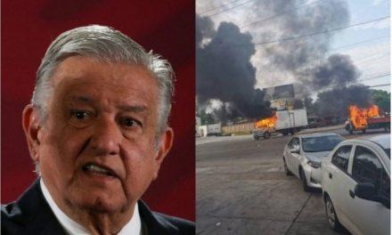 No tenemos duda de que liberar al hijo del Chapo fue lo mejor, no queremos la guerra: AMLO