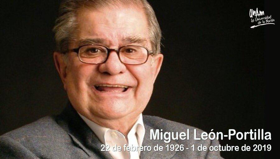 Muere el historiador mexicano Miguel León-Portilla