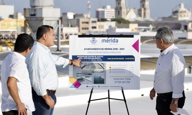 Mejora de mercados en Mérida, con seguridad y comodidad
