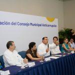 En Mérida, segundo Consejo Municipal Anticorrupción del país