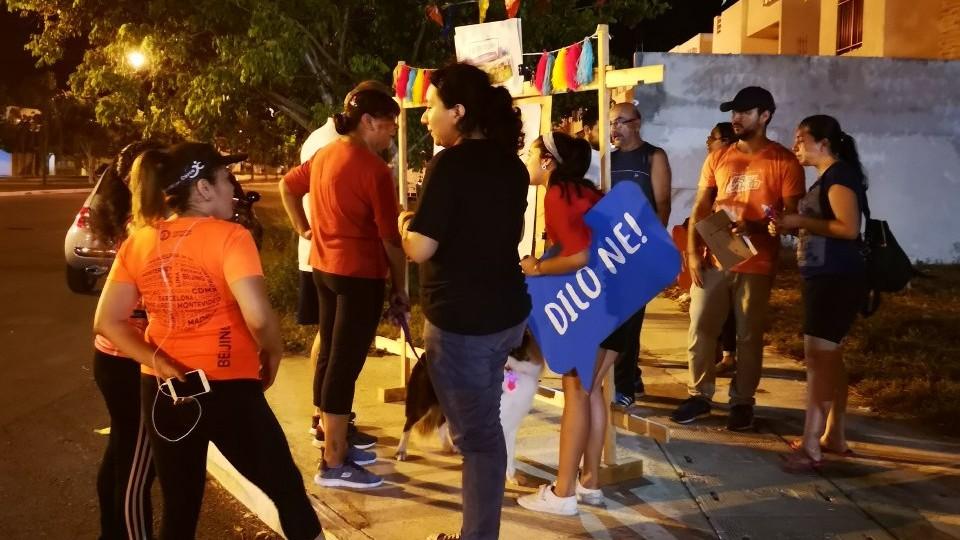 Más de 300 personas participan en #LaOpinadera, espacio itinerante de participación ciudadana
