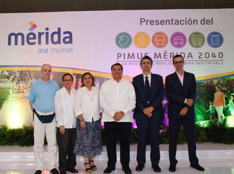 Trazan movilidad urbana sustentable en Mérida