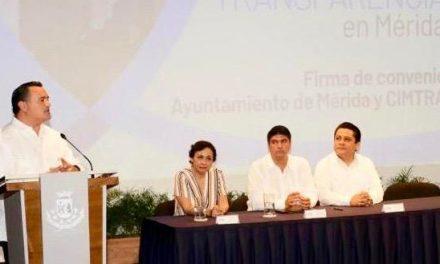 Manejo eficiente de recursos públicos, mejora calificación de Mérida