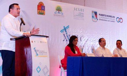 Comparte Mérida agenda y experiencia en sustentabilidad ambiental