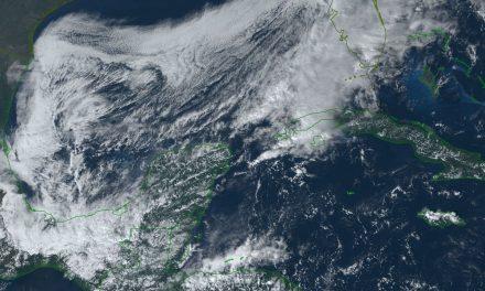 Bajará temperatura hasta 10 grados por Frente Frío 13 en Península de Yucatán