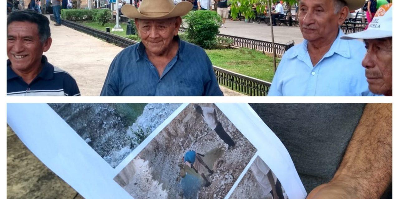Quieren recuperar tierras vendidas hace siete años en Chocholá (Video)