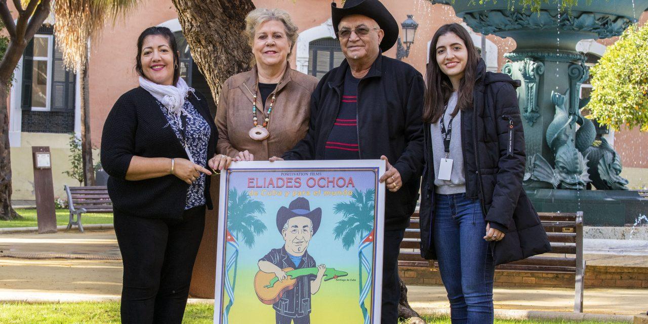 """Compite filme """"Elíades Ochoa, de Cuba para el mundo"""" por el Colón de Oro en Huelva"""