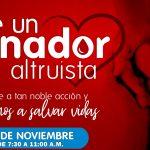 Prepárate: arranca este martes jornadaaltruista de donación de sangre