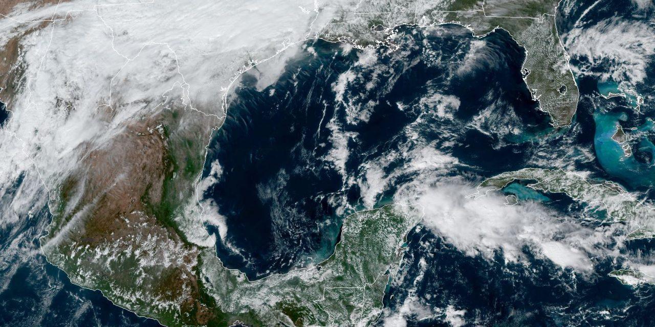 Así afectará Frente Frío 12, con norte fuerte, en Península de Yucatán