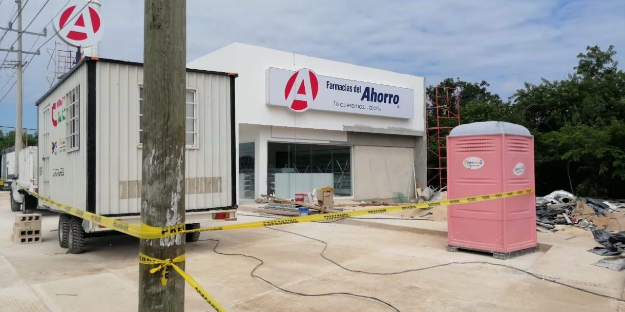 Muere en farmacia en construcción en Ciudad Caucel