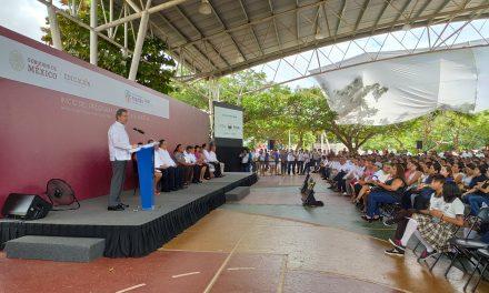 Insulso arranque en Yucatán de 'La Escuela es Nuestra'