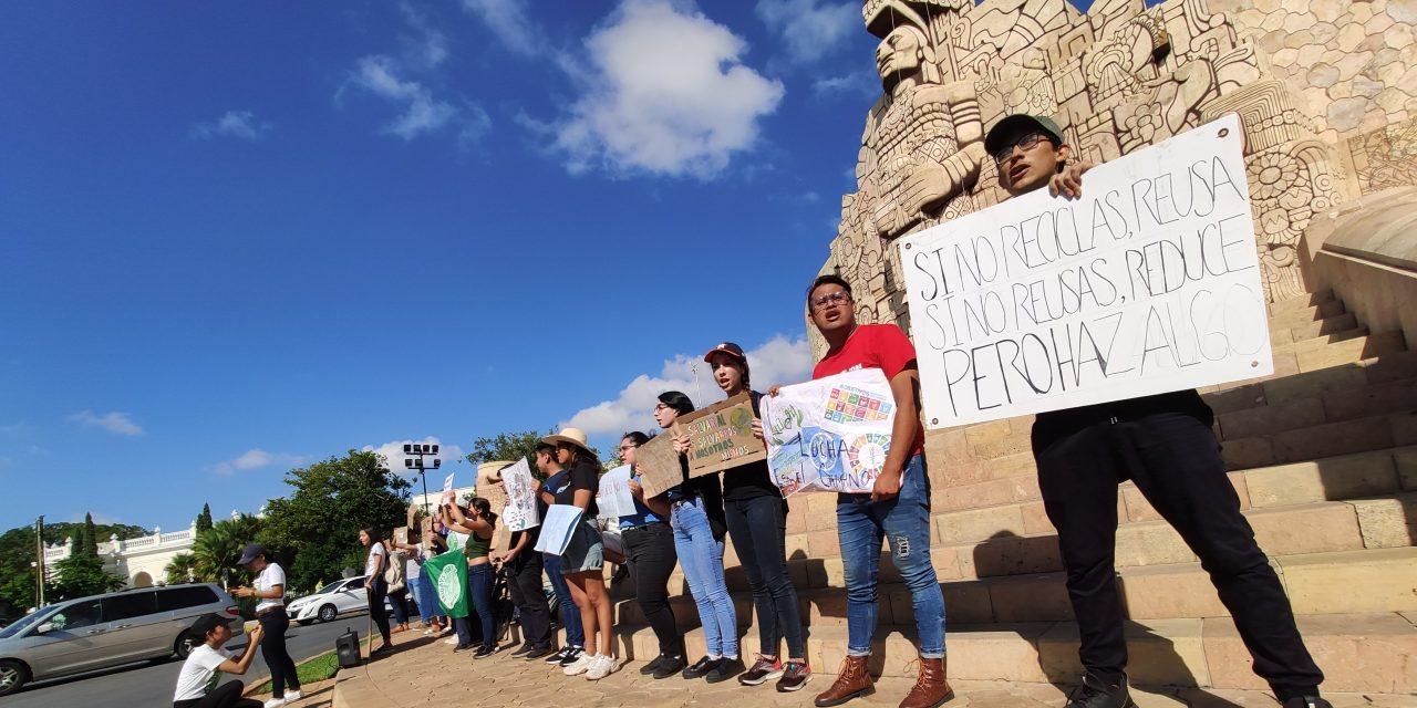 Jóvenes en Yucatán planean 'Declaratoria de Emergencia Climática' (Video)