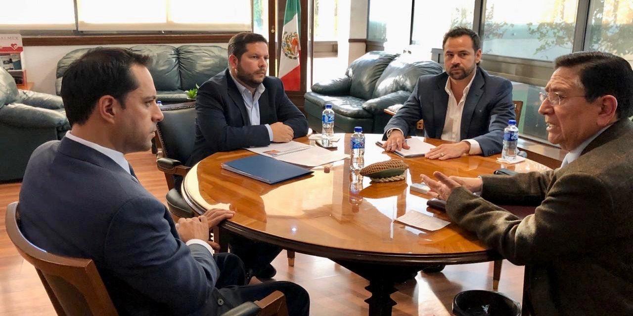 Gestión presupuestal y Centro de Acopio de Miel, temas de Vila en CdMx
