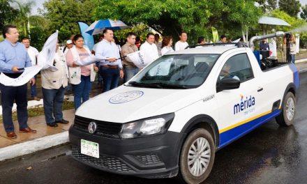 """Relanza Mérida campaña """"Escuadrón vs el Mosco"""", con abatización y fumigación"""