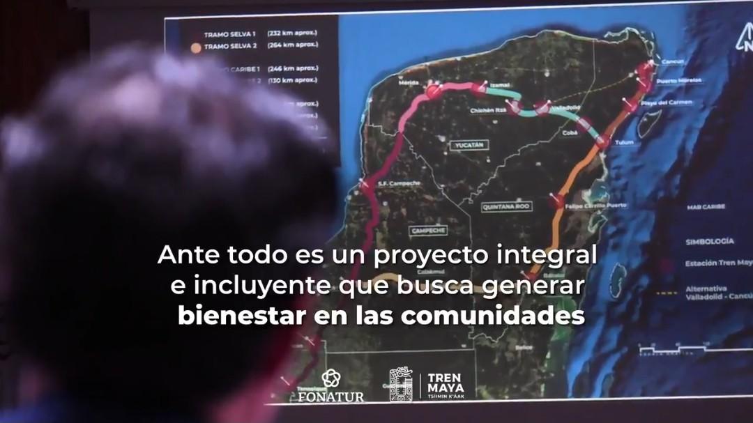 Así viene la consulta ciudadana e indígena sobre Tren Maya (Video)