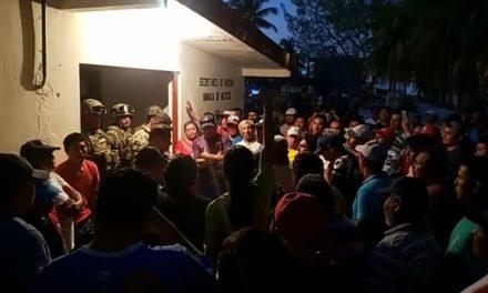 Protestan en puerto Sisal por muerte de pescadores y exigen justicia