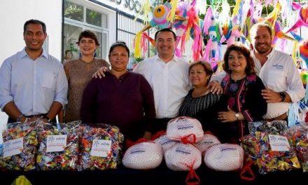 Dan su 'Navidad' a Consejos de Participación Ciudadana de Mérida