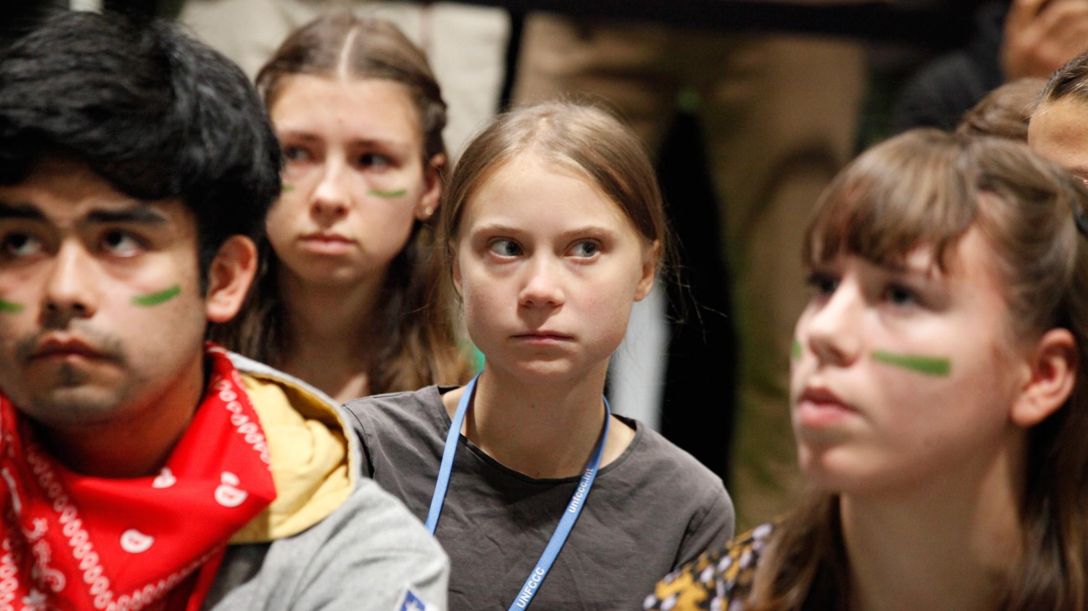 "Greta Thunberg a líderes mundiales: ""nos están traicionando"""