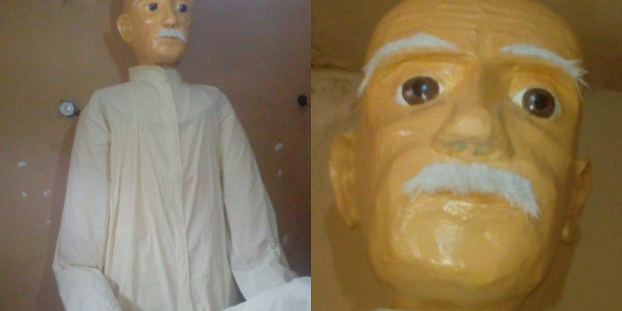 Ya orean el muñeco de Año Viejo más grande de Yucatán