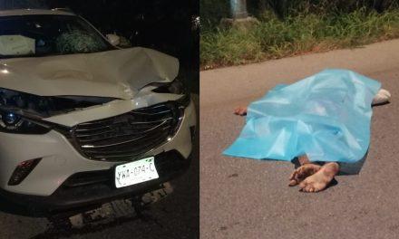 Muere peatón al intentar atravesar periférico de Mérida