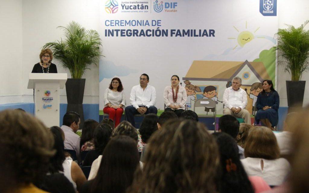 Niños yucatecos encuentran hogar; con 20 adopciones cierra 2019