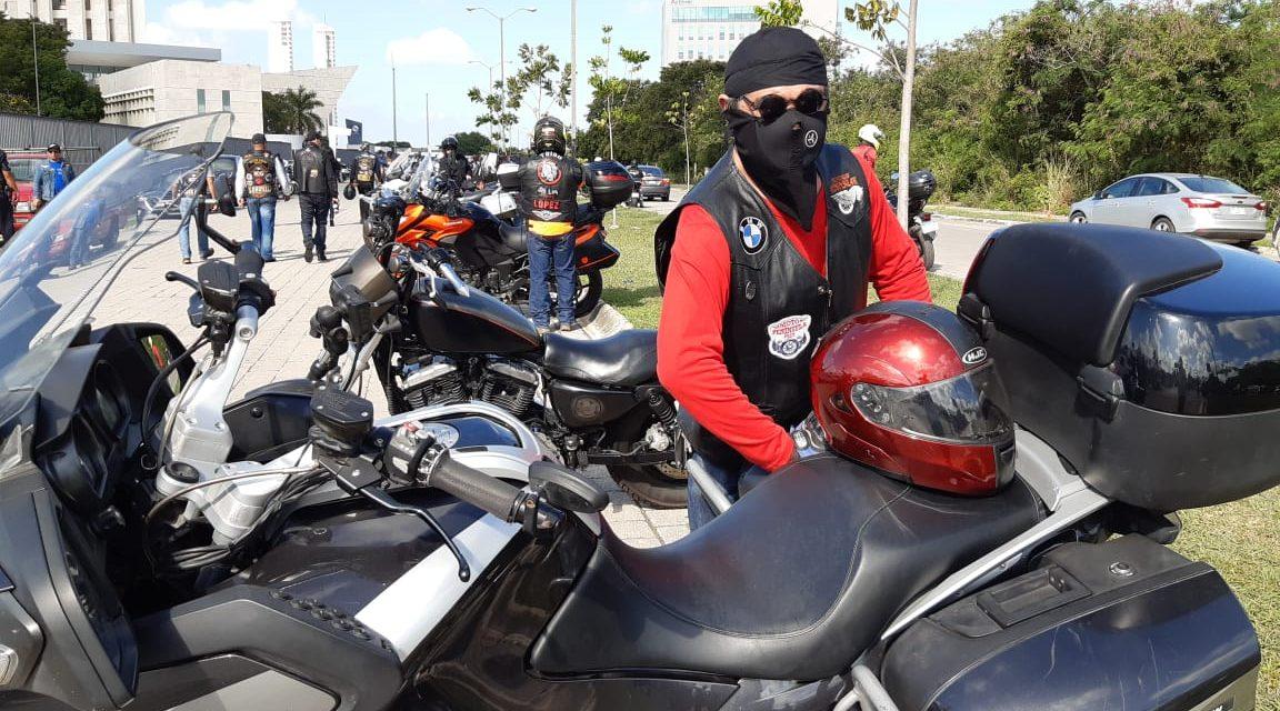 Rodada motociclista por conciencia vial y menos siniestros