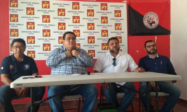 Líder de PT quiere modelo de administración de AMLO en Yucatán