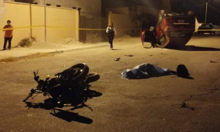 Fallece motociclista en fraccionamiento San Pedro Cholul (Video)