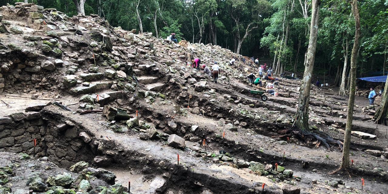 Nuevo palacio maya en Yucatán, a finales de marzo