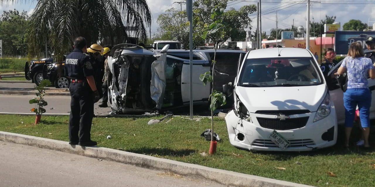Descuido termina con tres lesionados en Juan Pablo Segundo (Video)