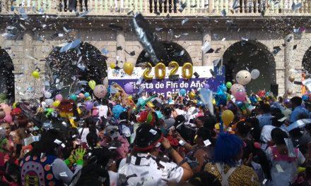 Festejo popular y familiar despide año y recibe el 2020 (Video)