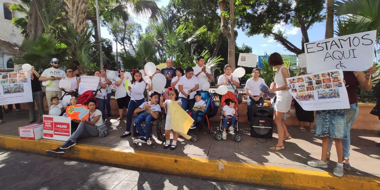 Niñas y niños sin rehabilitación integral, reclaman alternativa (Video)