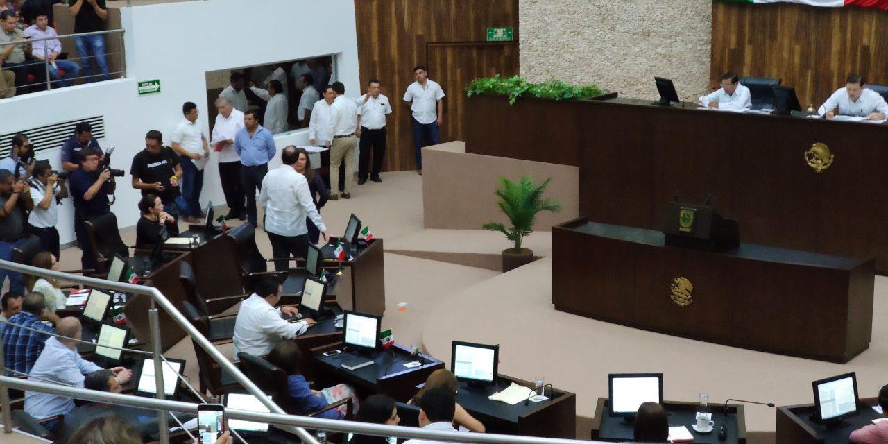 Presupuesto y Paquete Fiscal Yucatán 2020, con voto mayoritario